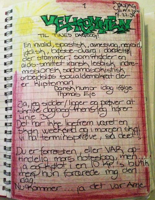 dagbøger til teenager